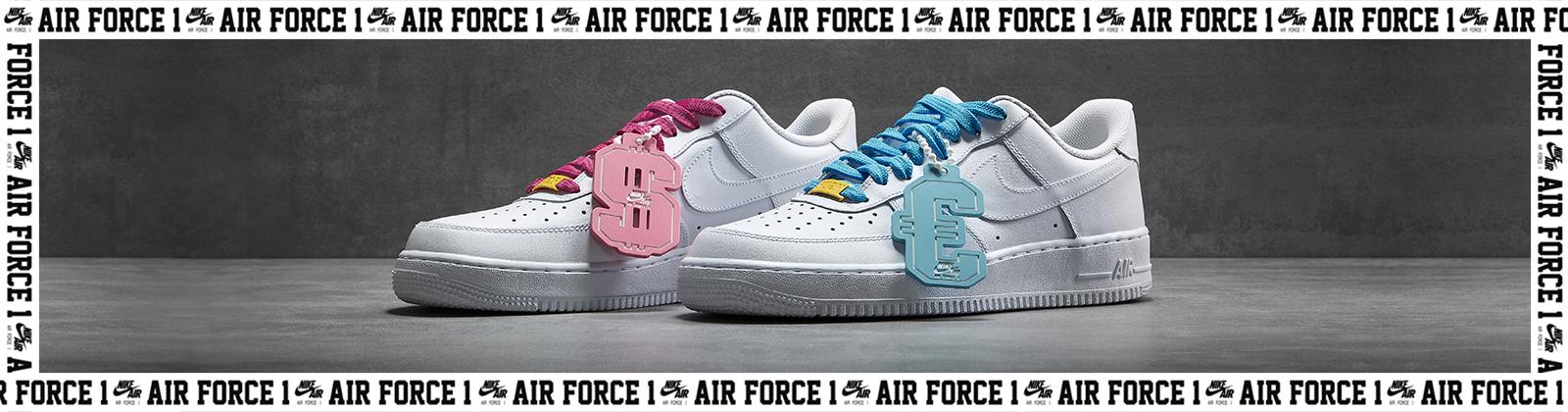 Nike Air Force di Domenico Formichetti per Guè e il concerto