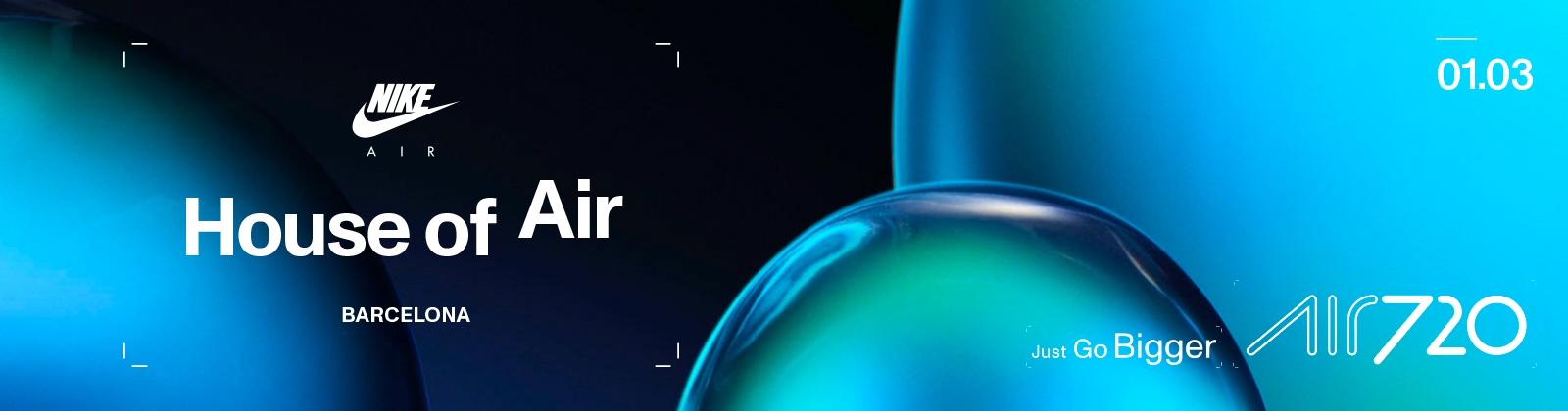 Oferta terminar Manto  House of Air | Nike